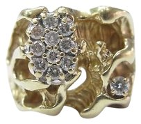 Fine,Huge,Diamond,Yellow,Gold,Jewelry,Ring,14kt,0.65ct