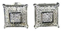 Mensladies,9,Mm,4,Prong,Diamond,Stud,Earrings,1,Ct,Lk