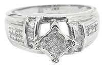 Other Ladies 14k White Gold 0.45ct Diamond Ring