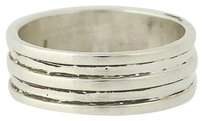 Layered Band - Sterling Silver 925 Ring Unisex Polished