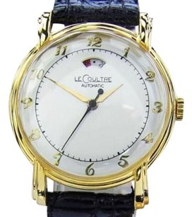 Lecoultre Power Reserve Vintage Swiss Made Mens Manual Wind 1960s Watch Dr31