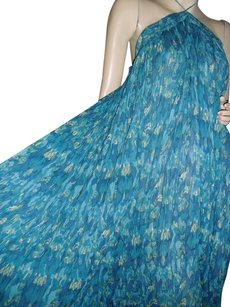 turquoise blues Maxi Dress by