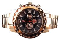 Other Men Aqua Master Rose Gold Finish Big Face Diamond Watch 50mm W138 0.33ct