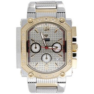 Other Mens Diamond Watch Aqua Master Jojo Jojino Joe Rodeo Two Tone 0.45 Ctw. W323