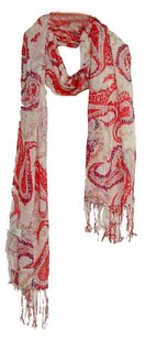 other New' Printed Flowers Scarf Item:V401118-R