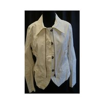 Other Ikks Cotton Zip Or Button Front Made In France Qxq Whites Jacket