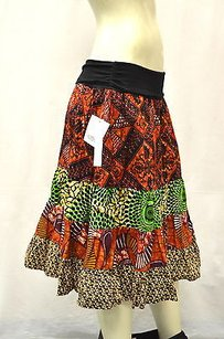 Other Twelfth Street Cynthia Vincent Multi Print Peasant 170787pk Maxi Skirt Multi-Color
