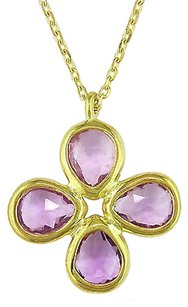 Other Sterling Silver 1 34 Ct Tgw Amethyst Brazil Fashion Pendant 16 Necklace Chain