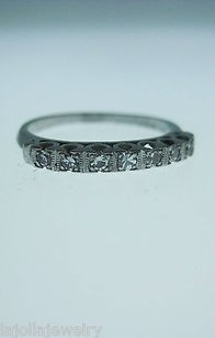 Other Platinum Single Cut Diamonds Ladies Ring
