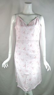 Rachel Ashwell Shabby Chic Pink Floral Jersey Cotton Night Gown
