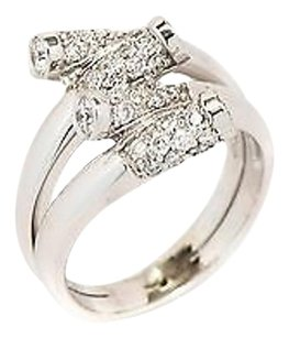 Ring 14k White Gold 1.06ct G Vs1 Diamond 5.9 Grams 6.25