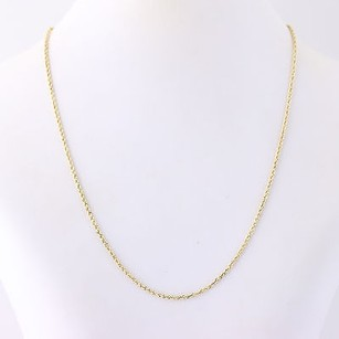 Rope Chain Necklace 16 - 14k Yellow Gold Lobster Claw Clasp