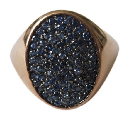 Other Rose Gold and Blue Sapphires