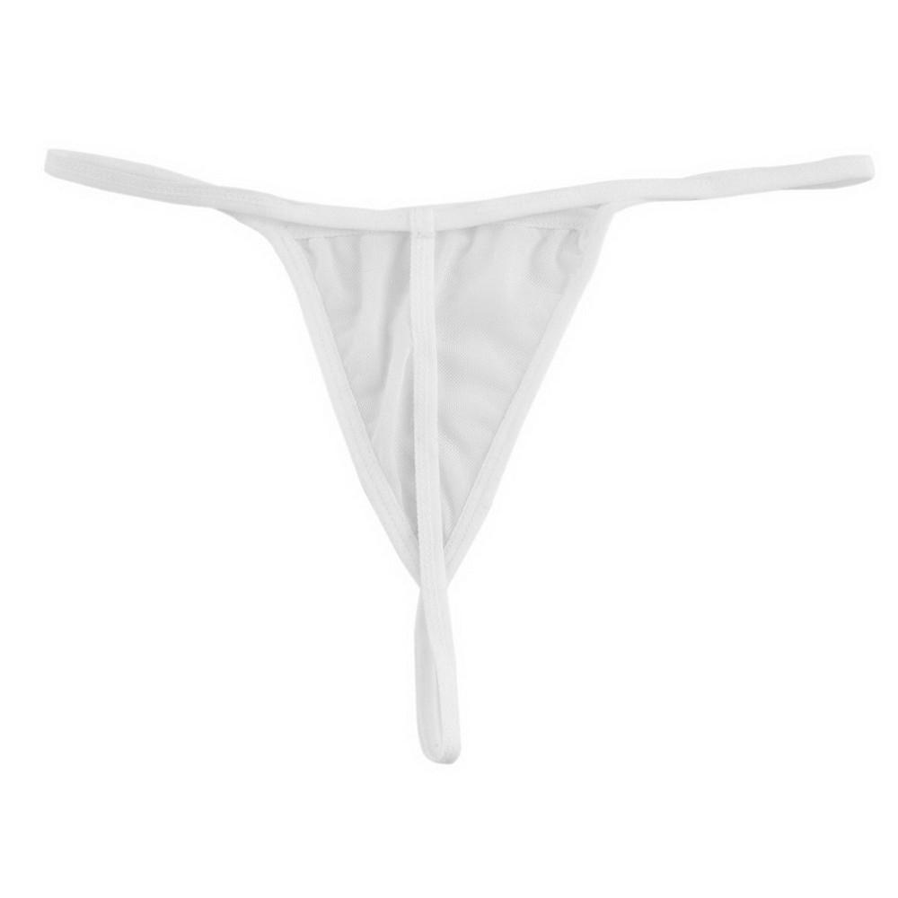 christian louboutin white g string