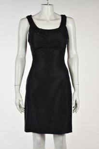 Other Trend Les Copains Womens 42casual Above Knee Sleeveless Sheath Dress