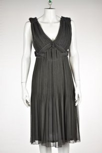 Alberta Ferretti Womens Gray Dress
