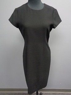 Other short dress Black Jones York Essentials Polyester Blend Cap Sleeve Shift Sm1764 on Tradesy