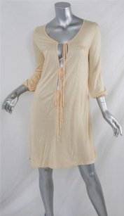 Other short dress Oranges Kate And Kass Womens Peach 34 Sleeve Deep on Tradesy