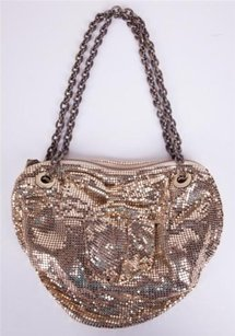 Mimco Metal Mesh Sequin Shoulder Bag