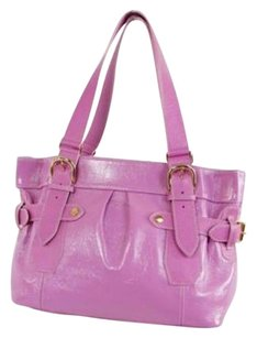 Other Samantha Thevasa Patent Handbag Tote Satchel Shoulder Bag