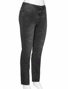 Other Samoon By Gerry Weber Grey Washed Stretch Slim Fit 220660be Skinny Jeans