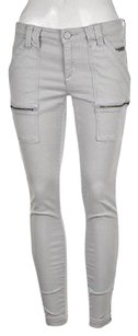 Other Joie Park Skinny Womens Light Gray 27 Cotton Pants Cargo Trousers Skinny Jeans