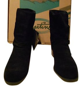 Martino Waterproof Slouch Black Boots