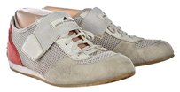 Other Stella Mccartney Addidas Womens White Sneakers Suede Active Flats Multi-Color Athletic