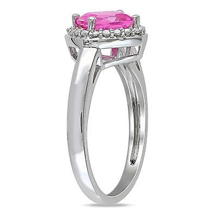 Other Sterling Silver 2 Ct Tgw Pink Sapphire Fashion Ring