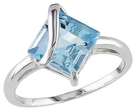 Other Sterling Silver 3 16 Ct Sky Blue Topaz Fashion Ring