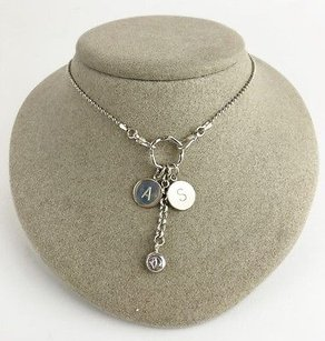 Sterling Silver As Italy Necklace Max043992