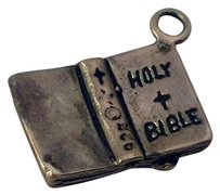 Sterling Silver Holy Bible Charm Pendant New Cute