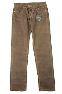 Jeckerson Womens Brown Straight Leg Jeans