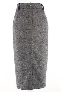 Other Aktive By Krizia 1370h06734 Straight Pencil Womens Skirt Grey