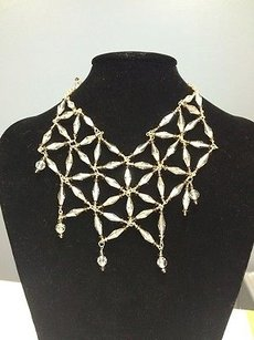 Other Susan Lieber Designs 16 Crystal Necklace One Of A Kind Design Statement Piece