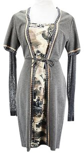 short dress gray Pianura Studio Womens on Tradesy