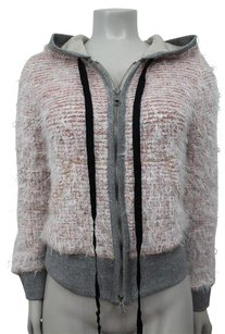 Other Calvin Rucker Sparkle Boucle Ribbon Pink Grey Sweatshirt