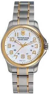 Swiss Army Victorinox Two-tone Stainless Steel Ladies Watch 241364
