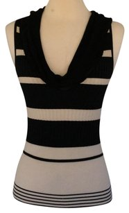 Other Top Black and ivory