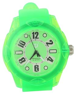 Tendence Rainbow Watch Green Hi-tech Polycarbonate Quartz 02013042 50m