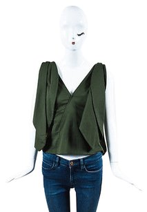 Rosie Assoulin Forest Top Green