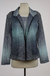Dance Womens Lace Basic Gray Jacket