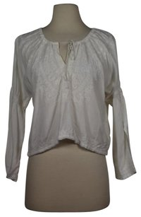 Other What Comes Around Goes Around Womens Ethnic Shirt Top White