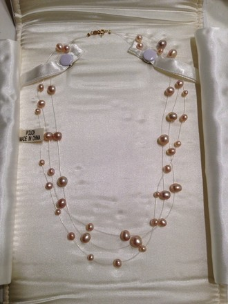 Other Triple Strand Pearl Necklace