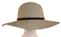 Tropical Trends Womens Ivory Straw Hat Os Paper Casual
