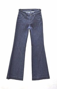 Other Town Angel Dark Rinse Indigo 160973tag Trouser/Wide Leg Jeans
