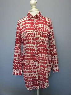 Italy Dark Red Cotton Tunic