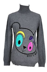 Whos Who Womens Grey Sweater