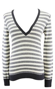 Harmont Blaine Striped Womens Sweater