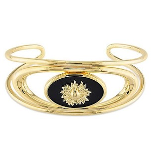 Other Versace 19.69 Abbigliamento Sportivo 18k Gold Covered Silver Bangle
